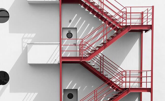 Bursa Yangın Merdiveni